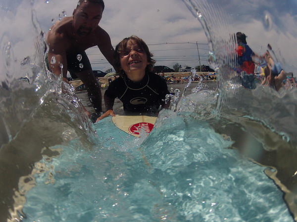 Surfing with the Leightons